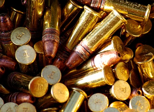 A box of .22 rounds