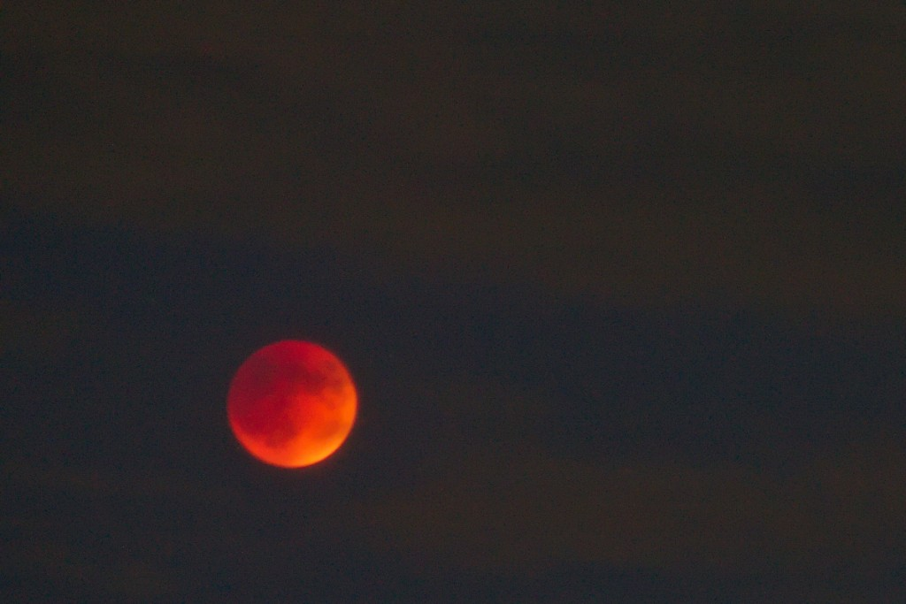 Lunar Eclipse from Livermore, CA