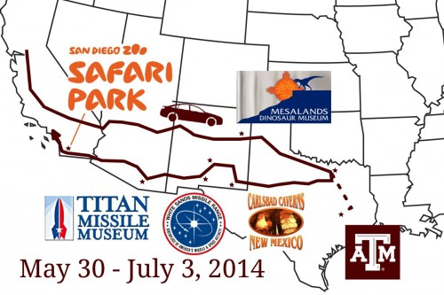 2014 - Texas - Trave Maps
