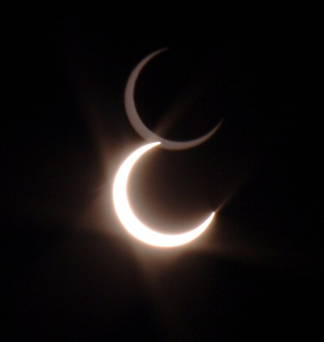 Solar Eclipse May 20, 2012 - 6:33 PM Pacific Time from Livermore, CA