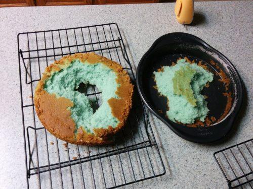 Severe Cake Failure